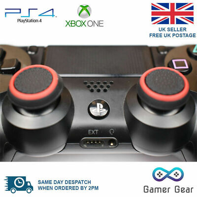 100 x Rubber Thumb Stick Cover Grip PS4 XBOX One Analog Controller B&R Wholesale