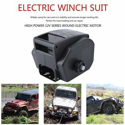 6000LBS Remote Contol Pulling Warn Capacity Detachable Portable Electric Winch