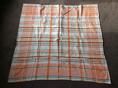 Vintage Tablecloth/material 109cm X 108cm Approx