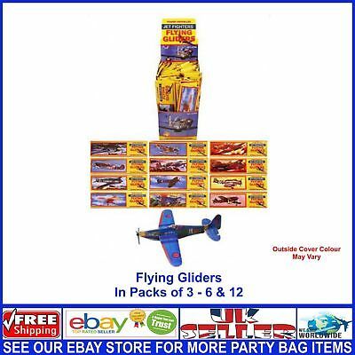 Kids Jet Plane Gliders Job Lots Wholesale Party Bag Fillers Christmas Stocking
