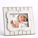 Frame-Our Little Blessing-White/Holds 4x6 Photo