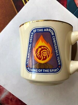 Vintage Boy Scouts Of America  Cup  1977 National Of The Arrow Conference ,tenn