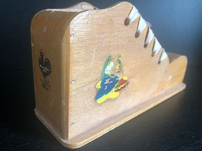 Peters Weatherbird Shoes Wooden Shoe Toy Advertising