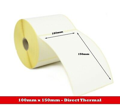 For Zebra GK420D GX420D GK420T 100mm x 150mm/100mm x70mm Direct Thermal Labels