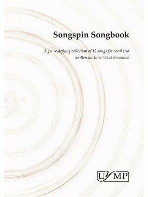 Songspin Songbook Choral Vocal Album SSA Vocal Voice Choral SHEET MUSIC BOOK