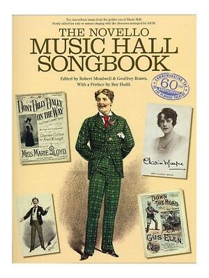 The Novello Music Hall Songbook SATB Vocal Voice Choral SHEET MUSIC BOOK
