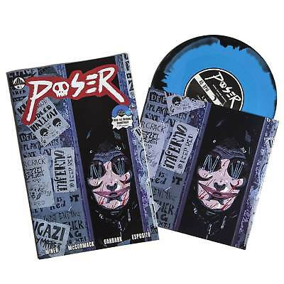 Waxwork Records/Comics - Poser Comic Issue 1 Includes 7 Inch Vinyl  New & Sealed