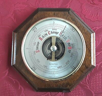 Barometer by Shortland Bowen in a good working condition. Made in England.