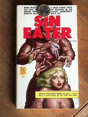 Sin Eater - Glenn Low - US sleaze vintage adult paperback 1960 - Novel Book 5009