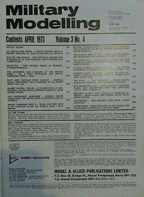 Military Modelling Magazine - April 1973