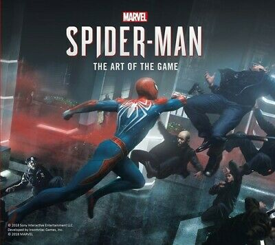 Marvels Spider Man The Art Of The Game - Paul Davies (2018, Livre NUOVO)