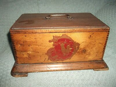 Antique French Phonograph Box. c1900.