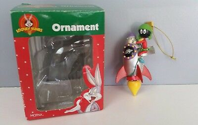 Looney Tunes Marvin the Martian Christmas Ornament 1998 in Original Box