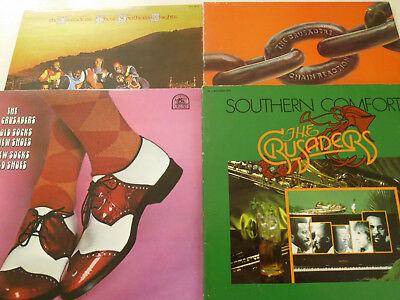 THE CRUSADERS -Old socks new shoes,Southern comfort &...-  4 LPs/Jazz!1970-76
