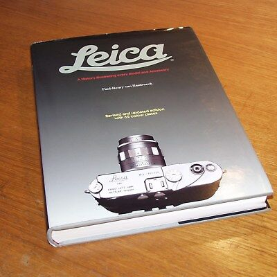 LEICA BOOK A History illustrating every Model and Accessory REVISED ED HASBROECK
