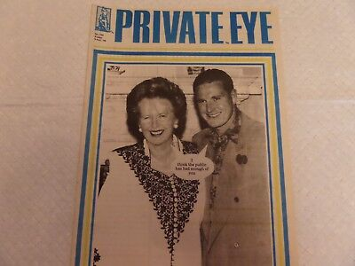 PRIVATE EYE MAGAZINE No. 754  9th November 1990 - I THINK THE PUBLIC .....