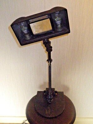 Vintage EDL Lenslite Machinists,Jewellers/Watchmakers magnifying lamp/Light.