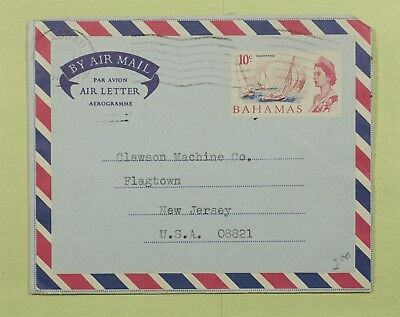 Dr Who Nassau Bahamas Air Mail Letter C02680