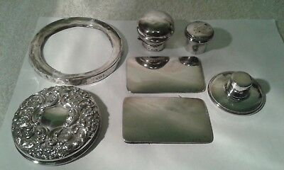 Job Lot of Antique Silver - Some good, some scrap. 116 gms. All hallmarked.