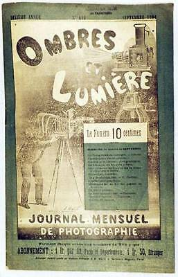 1904 ORIGINAL French Photo Journal Magic Lanterns Cameras Movie Projectors Etc.