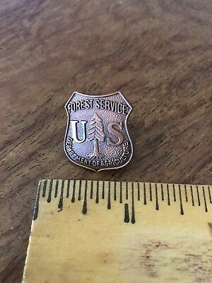 Forest Service Lapel Pin , Free Shipping