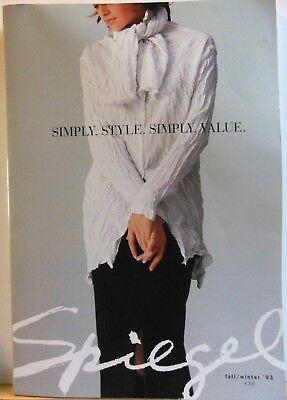Vintage Spiegel 1993 Fall And Winter  Mail Order Catalog: Flip Book
