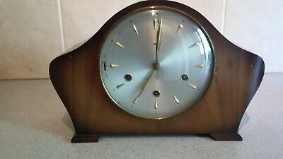Smiths 8 day Westminster Chime Wooden Mantle Clock.