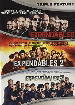 The Expendables Complete Sylvester Stallone Film Series 1-3 DVDs Set Collection