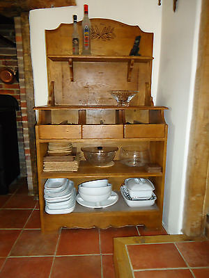 """Solid Oak French cutlery dresser from the Antix """"Ardéchois"""" Collection"""