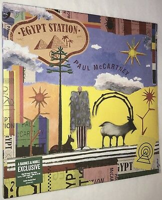 Paul McCartney - Egypt Station Ltd. RED Barnes & Noble 2x Vinyl LP 2018 Beatles