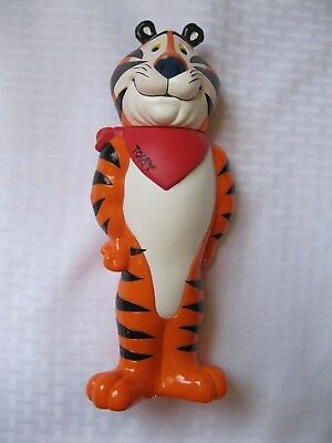 1998 Kellogg's Tony the Tiger Figure Straw Cup Cereal City Toy