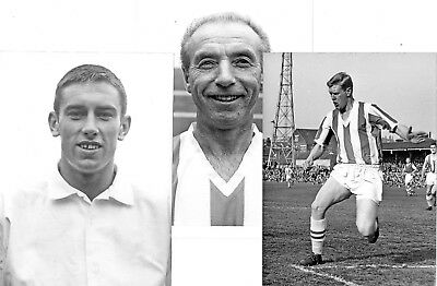 Stoke City - 3 Fine Large Press Photos of Stoke Players of the 1950/60s
