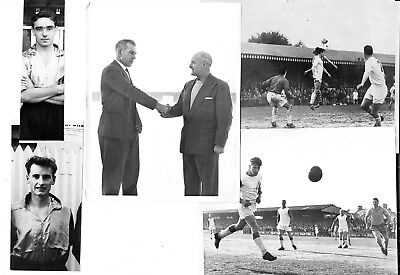 Torquay United - 5 Fine Press Photos of Torquay Players/ Action of the 1950/60s