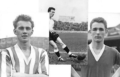 Sunderland - 3 Fine Large Press Photos of Sunderland Players of the 1950/60s