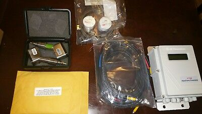 NEW GE Panametrics AT868-1-1-1 AquaTrans Ultrasonic Liquid FlowMeter&install kit