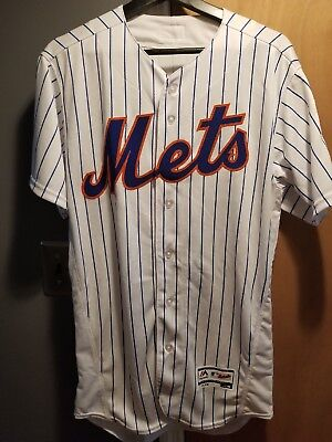 New York Mets Majestic Mens Blank Home Flex Base Authentic Jersey