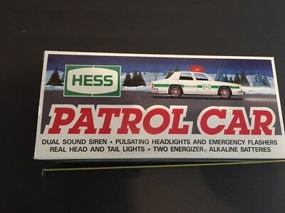 Hess Patrol Car, 3 cars all the same all new in box