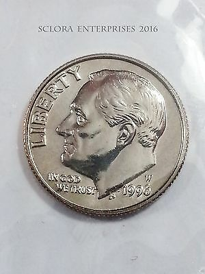 1996 W Roosevelt Dime  *RARE 50th Anniversary*   *MINT CELLO*  **FREE SHIPPING**