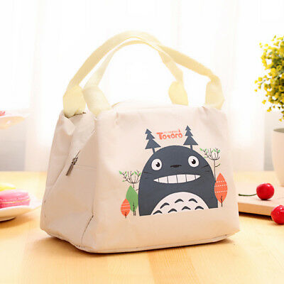 Insulated Lunch Bag Portable Waterproof Thermal Cooler Food Tote Picnic BS