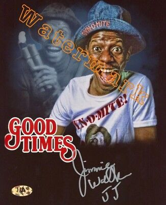 """1970's """"Good Times"""" Jimmie Walker Signed 8""""x10"""" Photo (MAB Cert With Hologram)"""