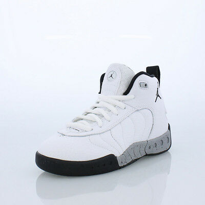 JORDAN JUMPMAN PRO Little Kids white Black Shoes Youth Size 3 ... edefe4f82