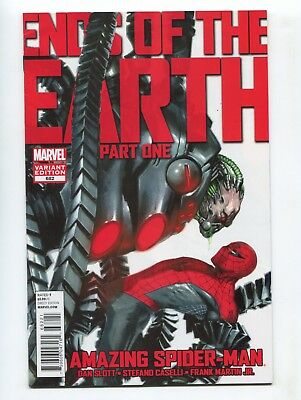 2013 Marvel The Amazing Spider-Man #682 1:50 Dell'otto Variant Very Fine+ A D1