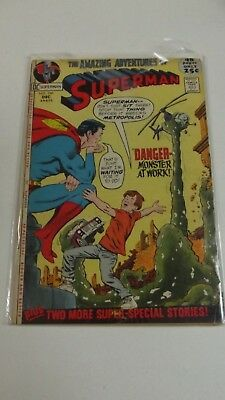SUPERMAN # 246  1971  VG-  DC  Curt Swan art  Murphy Anderson cover