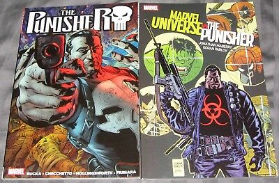 The Punisher by Greg Rucka Volume 1 Marvel Comics TPB 1st Print Frank Castle