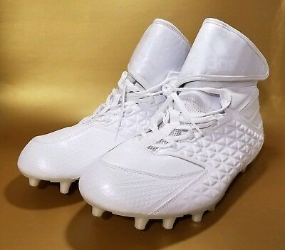 purchase cheap 8f018 e549a Adidas Mens Freak High Wide White Football Cleats D70153 White Size 17