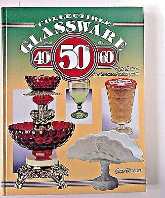 Collectible Glassware From The 40s 50s & 60s Illustrated Guide excellent cond.