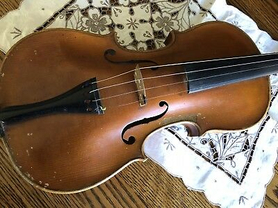 vintage antique 100 Year Old Violin Steiner