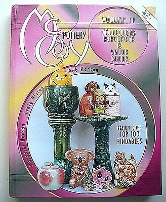 McCoy Pottery Collector's Reference & Value Guide Vol. 2 excellent condition HC