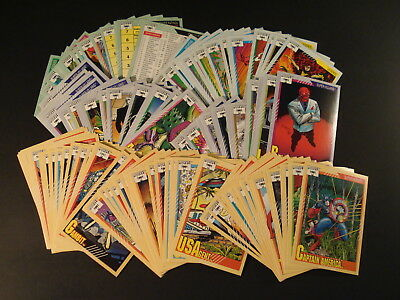 1991 Marvel Universe Series 2 Trading Cards - Complete Set