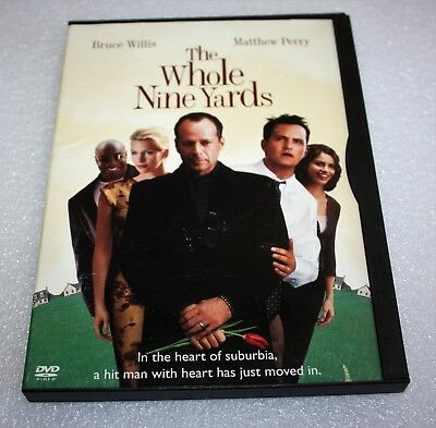 The Whole Nine Yards (Dvd, 2000) Bruce Willis, Matthew Perry ~Dvd + Case Comedy